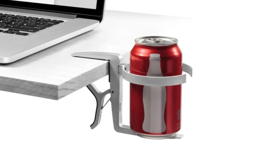 cup holder holding soda can