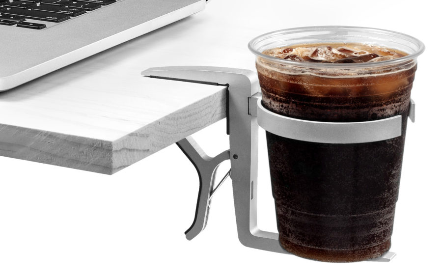 A Vector Cup Holder protects all of your electronics.